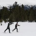 AC-track skiers